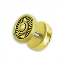 BRASS TRIBAL FAKE PLUG 1,2x6mm mod.3