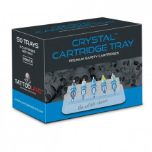 CRYSTAL CARTRIDGE TRAY 50pcs