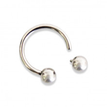 TITANIUM INTERNAL CIRCULAR BARBELL